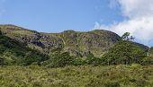 Carraig Alltan Mhic Eoghainn Viewed From Beinn Eighe Mountain Trail Above Loch Maree, North West Hig poster
