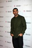 LOS ANGELES - NOV 16:  Drake arrives at the Google Music Launch at Mr. Brainwash Studio on November
