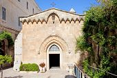 stock photo of gethsemane  - Chapel Sanctuaries of the Flagellation and the Condemnation - JPG
