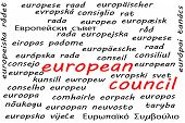 Ways To Say European Council In All 24 Official Languages Of The European Union poster