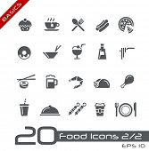 pic of chinese menu  - Food Icons  - JPG