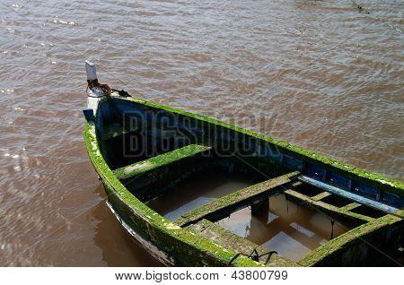 Old Sinking Boat
