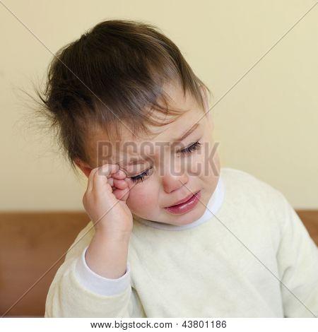 Crying Sleepy Child