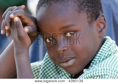Young Boy In Zimbabwe
