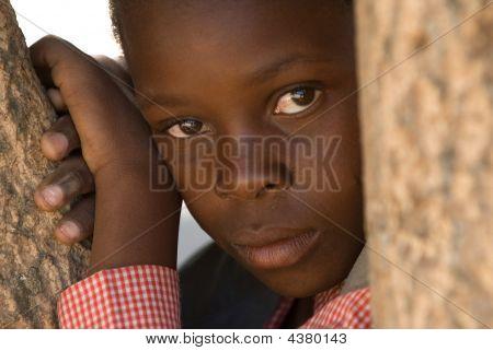 Boy In Zimbabwe