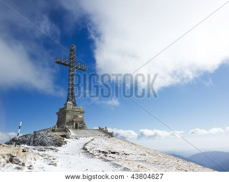 Caraiman Heroes Cross Monument