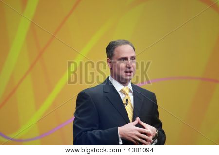 General Manager Lotus Software And Websphere Portal Ibm Bob Picciano Address To Lotusphere 2009