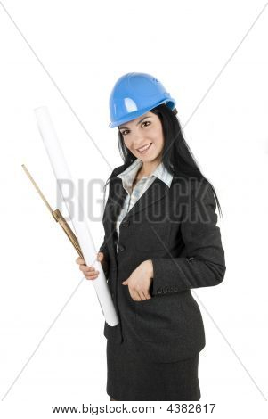 Attractive Woman Engineer