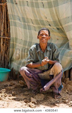 Basarwa Man