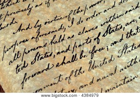 Proclamação de emancipação