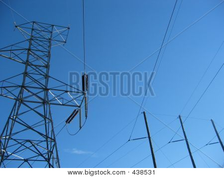 Two Power Poles