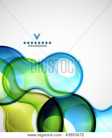 Sphere abstract modern design template