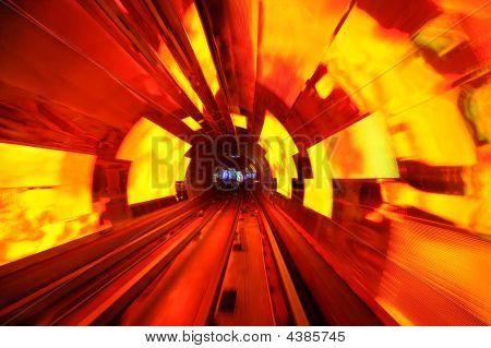 Bund Tourist Tunnel Shanghai
