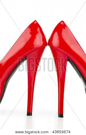red heels, symbol photo for fashion, elegance and eroticism
