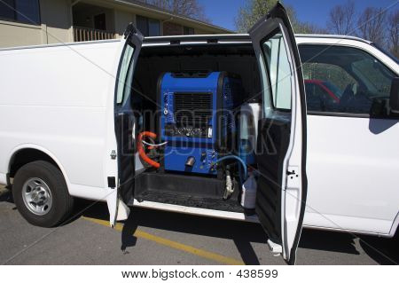 Carpet Cleaning Van 2