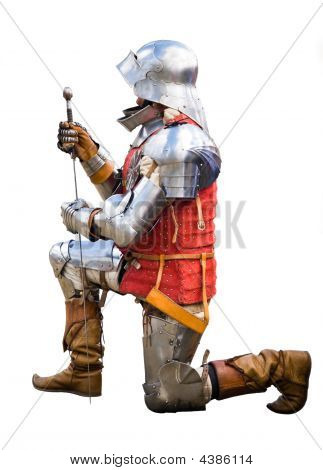 Knight On Bended Knee