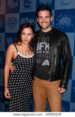 LOS ANGELES - MAR 21:  Zelda Williams, Colin Donnell arrive at the Batman Product Line Launch at the Meltdown Comics on March 21, 2013 in Los Angeles, CA