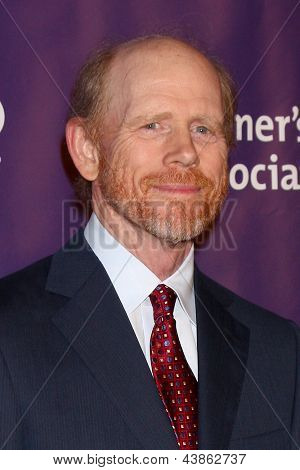 LOS ANGELES - MAR 20:  Ron Howard arrives at the 21st Annual A Night at Sardi's to Benefit the Alzheimer's Association at the Beverly Hilton Hotel on March 20, 2013 in Beverly Hills, CA