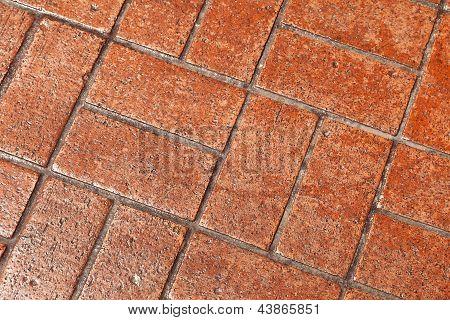 Natural Brick Walkway