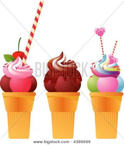 Free Festive Ice Creames