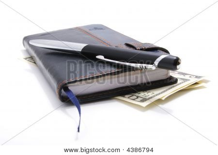 Notebook Pen Dollars 1