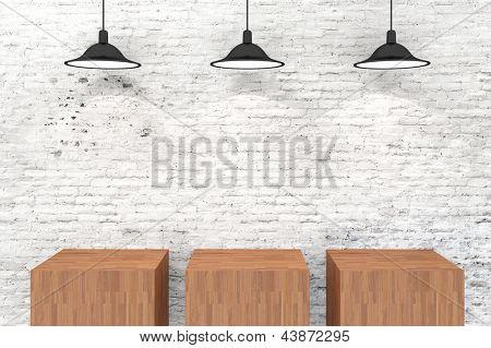 3d presentation vintage setup