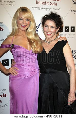 BEVERLY HILLS - MAR 23: Charlotte Ross, Beverly Kaskey at  the 2013 Genesis Awards Benefit Gala at The Beverly Hilton Hotel on March 23, 2013 in Beverly Hills, California