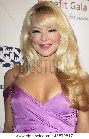 BEVERLY HILLS - 23 de MAR: Charlotte Ross en la Gala benéfica del premios de la Génesis para el 2013 en el Beverly Hilto