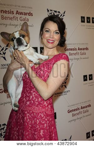 BEVERLY HILLS - MAR 23: Bellamy Young at  the 2013 Genesis Awards Benefit Gala at The Beverly Hilton Hotel on March 23, 2013 in Beverly Hills, California