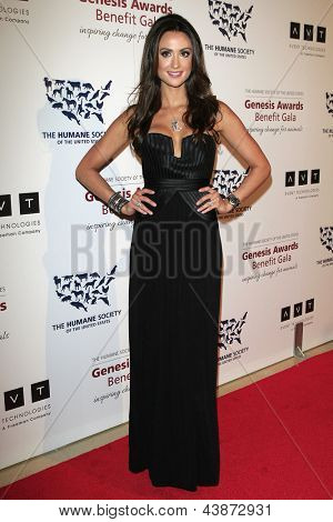 BEVERLY HILLS - Mär 23: Katie Cleary in 2013 Genesis Awards-Benefiz-Gala im Beverly Hilton