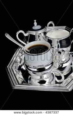 Silver Coffee Set