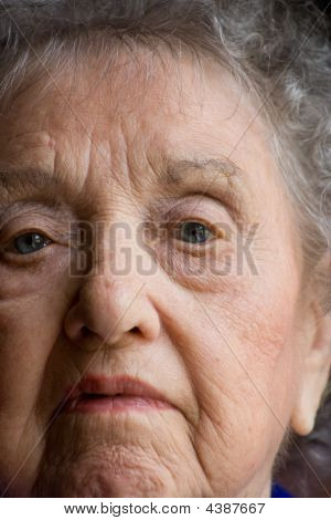 Elderly Woman Portrail