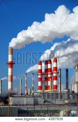 Billowing Smokestacks