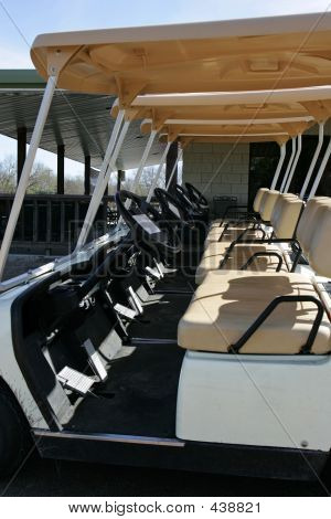 Aline Of Golf Carts