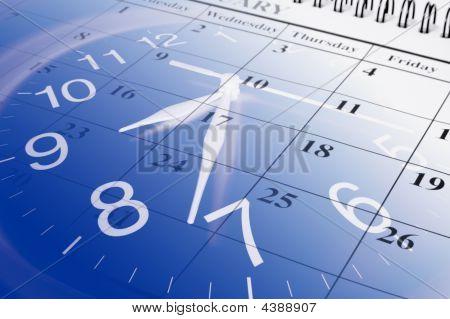 Agenda en klok