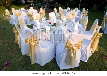 Outdoor Party Tables