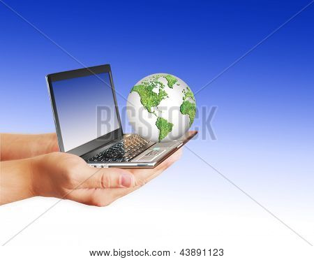 Best Internet and Environmental energy concept