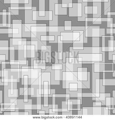 Rectangular pattern, vector illustration with clipping mask