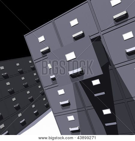 Photo of File cabinets - 3D