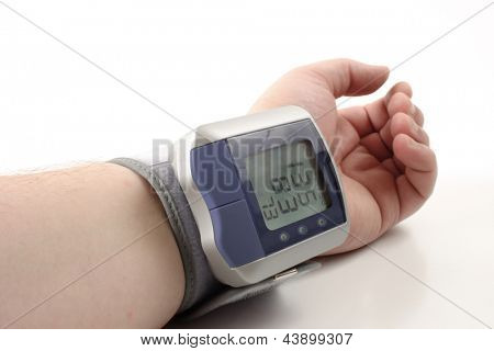 Photo of Digital blood pressure monitor