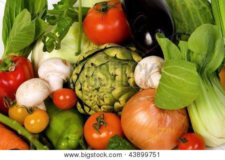 vegetables crop background