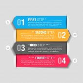 Infographics design template. Fully editable vector.