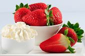 foto of whipping  - Strawberry - JPG