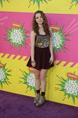 LOS ANGELES - MAR 23:  Sammi Hanratty arrives at Nickelodeon's 26th Annual Kids' Choice Awards at th