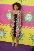 LOS ANGELES - MAR 23:  Rachel Crow arrives at Nickelodeon's 26th Annual Kids' Choice Awards at the U