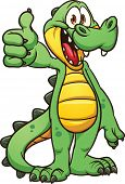 picture of crocodile  - Cartoon crocodile - JPG