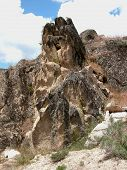 foto of boise  - This rocky outcropping is located near Idaho - JPG