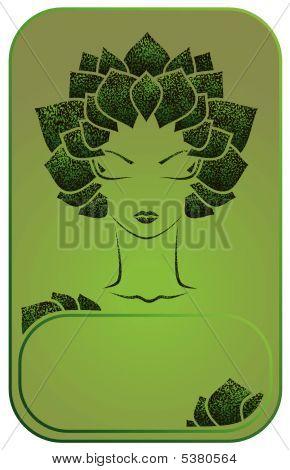Chica verde
