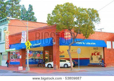 Retro Liquor Store