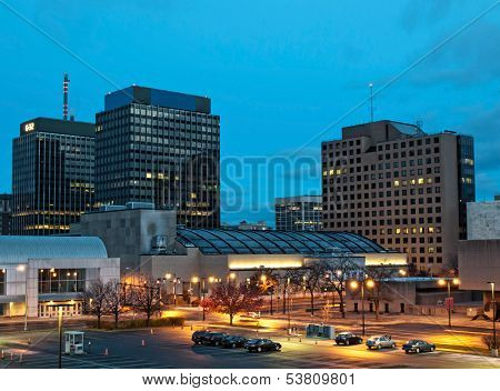 View Of Syracuse, New York